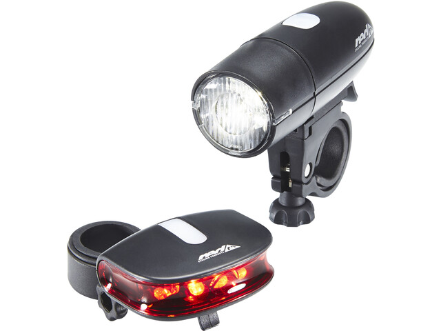 Red Cycling Products Bright LED Light Beleuchtungsset